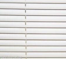 PVC 25mm slat LONG DROP (210cm) Venetian Blinds WHITE Widths 45 to 180cm