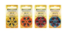 Brillant Hörgerätebatterie Hörgerät Type: BR10, BR13, BR312, BR675
