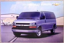NEW GM DEALERSHIP  2011 CHEVROLET EXPRESS VAN  AUTO POSTER OR VEHICLE PORTRAIT