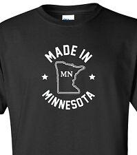 """Made in Minnesota"" T-Shirt S-4XL north star state vikings gophers minneapolis"