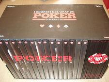 BOX COFANETTO 15 DVD POKER TEXAS HOLD' EM + LIBRETTI