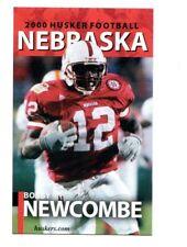 2000 Nebraska Cornhuskers Football Pocket Schedule VB cards -> You Pick 'em