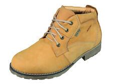 Abis Herrenschuhe Leder Stiefel Boots Schuhe 1411Eistex156.328  camel Gr.40-45