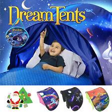 UK Dream Tents Adventure Unicorn Foldable Tent Pop up Indoor Kids Baby House Bed