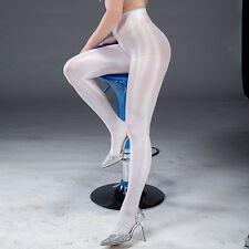 Women Satin Touch 8D 70D Tights High Gloss Shine Pantyhose Pantihose Crotch Sale