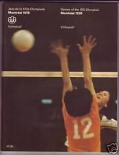 ORIGINAL PROGRAM MONTREAL 1976 OLYMPIC : VOLLEYBALL