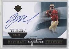2013 Upper Deck Ultimate Collection Futures Signatures #UFS-EM EJ Manuel Auto