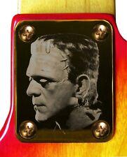 Neck Plate Neckplate Gold Fender Strat Tele P Bass J Bass Guitar Frankenstein 2