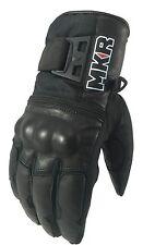 Guantes señoras de la motocicleta Cálido Impermeable Mkr Pantalla Táctil Compatible