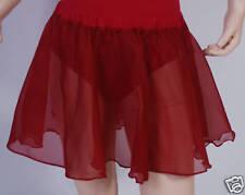 ISTD Regulation Circular Chiffon Skirt Plum