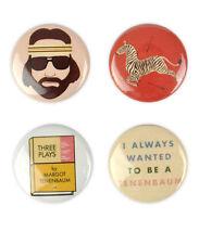 Royal Tenenbaum Badge Set! - Wes Anderson, Gwyneth Paltrow, Owen Wilson, Margot,