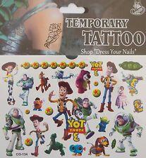 Toy Story-Woody Y Sus Amigos Dibujos Animados organismo temporal Tattoo Niños