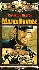 Major Dundee~Charlton Heston~James Coburn~BRAND NEW VHS~Fast 1st Class Mail