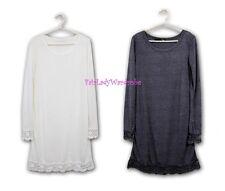 Japan Crochet Lace Soft knit Slip Dress! FREE US SHIPPING