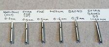 One Parker OCTANIUM Nib (Compatible All 51 variants, 21 Super & 41)