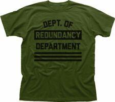 Dipartimento di ridondanza reparto FUNNY Oliva T-shirt di cotone fn9318