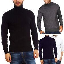 1b386ea1fe17 Maglione uomo collo alto lupetto dolcevita pullover TOOCOOL maniche lunghe  D325