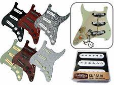 Deluxe Tonerider completamente cargado Stratocaster Scratchplate-Surfari Pastillas