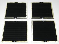 4 X CIS Solar Cells - 3.2 V DC - 60mm x 60mm - 80 mA - .25 Watt - Mini Panels