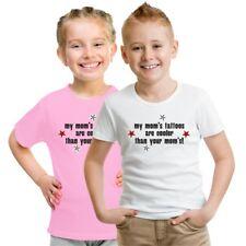 Kinder T-Shirt My moms tattoos tätowiert inked Mama Mutter Tochter Sohn Geschenk