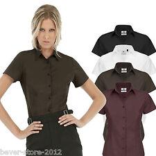 mujer blusa camisa de manga corta Pantalones Cortos Talla especial XS S M L XL