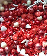 Halal Kosher Vegan Glutan Free Valentine Sprinkles for Cake Decorating Baking
