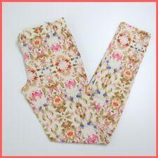 OTTOD'AME pantaloni donna fiorati DP7139 col.BEIGE/MULTICOLOR estate 2015