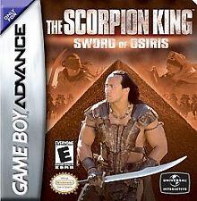 Game Boy Advance - The Scorpion King: Sword of Osiris  - Free Shipping