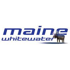 Maine Whitewater Rafting Moose White Tank Top Men's Ladies S M LG XL 2X 3X NEW