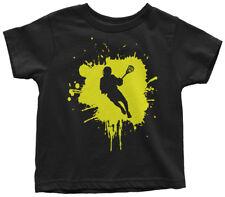 Lacrosse Splatter Boy Toddler T-Shirt Team Player Birthday Gift Idea