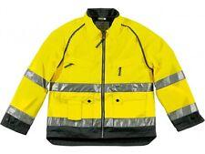Panoplie jaune gris mach haute visibilité veste 5 poches