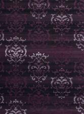 Plum Contemporary Vines Curls Curves Stripes Area Rug United Weavers 851-10782