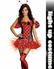 Light Me Up Ladybug Costume Dream Girl Lingerie