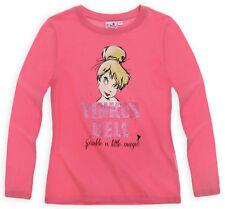 DISNEY t-shirt LA FEE CLOCHETTE 3 4 5 6 ou 8 ans rose TINKERBELL haut NEUF