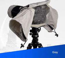 Camera Rain Cover for Canon Nikon DSLR Rain Sleeve Protection raincoat - 3 Color