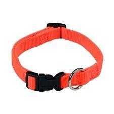 Farm-Land Hunde Halsband Hundehalsband Jagd Forst Reflektor signalorange