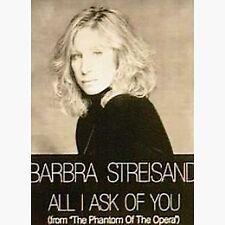 BARBARA STREISAND ALL I ASK OF YOU POSTER NEU OVP (263)