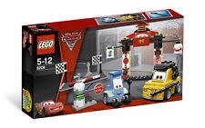 8206 TOKYO PIT STOP legos set disney cars 2 LEGO new pixar guido luigi