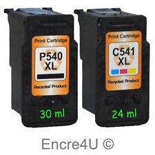 Cartouches d'encre non-oem Canon PG540 XL et CL541 XL : à l'unité ou x 2 x 3 x 4