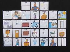 Opuestos imágenes-Autismo/pectorales/demencia/principios años/ayudas visuales comunicación