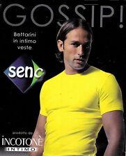 T-shirt, manica corta Uomo girocollo SENC Art 17 Cotone Antiallergico Bielastico