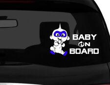 "Baby on Board incredibles Baby Die Cut Car Decal sticker cute baby 7"" (W)"
