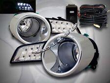 2008-2010 TOYOTA HIGHLANDER CLEAR FOG LIGHTS + SWITCH + WIRE + LED RUNNING LIGHT