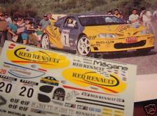 DECAL CALCA 1/43 RENAULT MAXI MEGANE O.GOMEZ RALLY CATALUNYA 1996