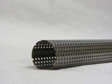 TUBO Di Acciaio Inossidabile Perforati Tutte le Taglie lunghezze Silenziatore Di Scarico 32 mm - 101 mm