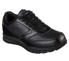 77235 Black Skechers Shoes Women Work Memory Foam Slip Resistant Electrical Safe