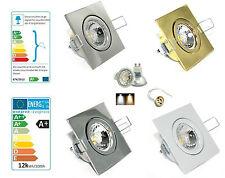 230V LED PLAFOND à encastrer Lampe Spot ANNEAU Jojo GU10 5 watt = 50W