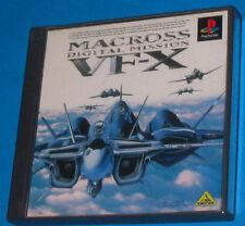 Macross Digital Mission VF-X - Sony PS1- Jap JP - Raro