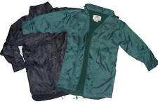 Kids & Adults Fleece Lined Rain Jacket Many Sizes BNWT!
