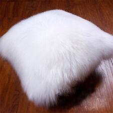 Luxury 100%Real SheepSkin Fur Pillow Cushion Cove Fleece Soft Pillowcase Pageant